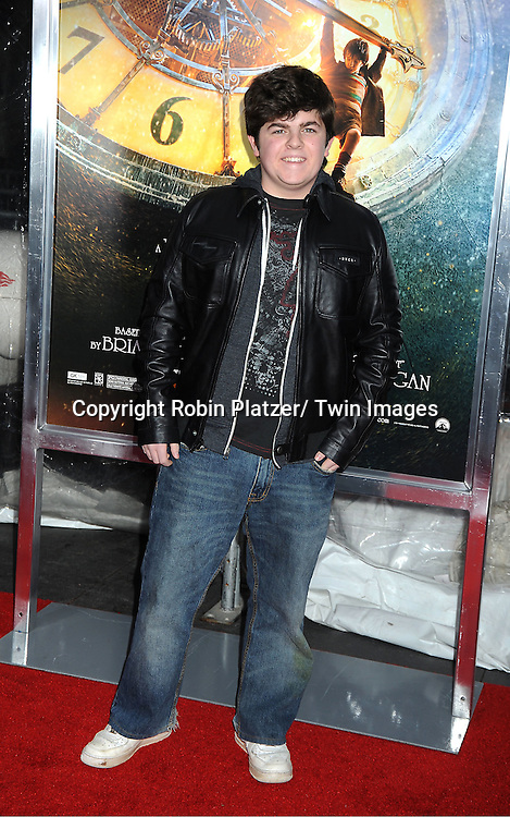 "Josh Flitter attends The World Premiere of ""Hugo in 3D"" on November 21, 2011 at The Ziegfeld Theatre in New York City."