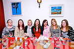 Evelyn Long, Tess Kennedy, Aisling Kelliher, Aoife Maguire, Helen Stack, Karen  Griffin and Orla Baker (from Dingle) enjoying Nollaig na mBan at Doyles Restaurant in Dingle on Monday night.