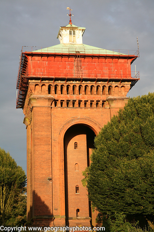 Victorian water tower known as Jumbo, Colchester, Essex, England