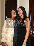 Joanne McCabe and Tara McKenna at the Baile Atha Fherdia Traders Awards in the Nuremore hotel Carrickmacross. Photo:Colin Bell/pressphotos.ie