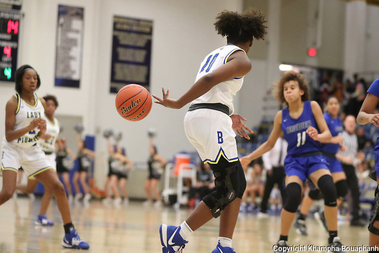 Boswell plays Brewer in high school basketball on Tuesday, January 7, 2020. (Photo by Khampha Bouaphanh)
