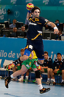 15.01.2013 World Championshio Handball. Match between Spain vs Australia (51-11) at the stadium La Caja Magica. The picture show  Antonio Garcia Robledo (Left Back of Spain)