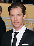 Benedict Cumberbatch attends The 20th SAG Awards held at The Shrine Auditorium in Los Angeles, California on January 18,2014                                                                               © 2014 Hollywood Press Agency