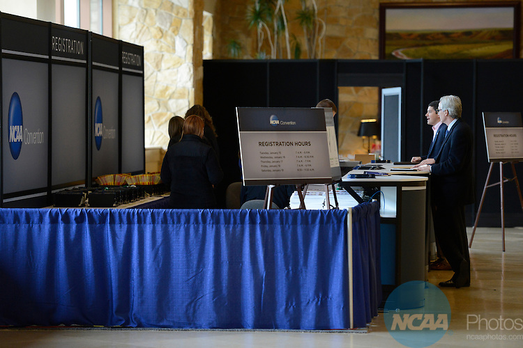 15 JAN 2013: The 2013 NCAA Convention held at the Gaylord Texan in Grapevine, TX. Stephen Nowland/NCAA Photos