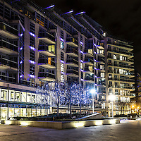 Battersea Reach, il lussuoso complesso lungo il Tamigi a Battersea. <br /> <br /> Battersea Reach, the luxury complex along the Thames in Battersea