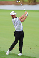 Jon Curran (USA) hits his approach shot on 9 during round 2 of the Honda Classic, PGA National, Palm Beach Gardens, West Palm Beach, Florida, USA. 2/24/2017.<br /> Picture: Golffile | Ken Murray<br /> <br /> <br /> All photo usage must carry mandatory copyright credit (&copy; Golffile | Ken Murray)