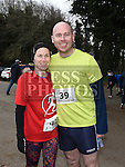 Susan Donoghue and Denis Finnerty who took part in Erin's Run. Photo:Colin Bell/pressphotos.ie