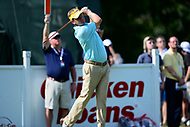 Potomac, MD - June 29, 2017: Billy Hurley III tees of on the 14th hole during Round 1 of professional play at the Quicken Loans National Tournament at TPC Potomac at Avenel Farm in Potomac, MD, June 29, 2017.  (Photo by Don Baxter/Media Images International)
