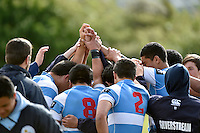 Action from the Condor Rugby Sevens Tournament at Naenae College, Lower Hutt, New Zealand on Monday 27 October 2014. <br /> Photo by Masanori Udagawa. <br /> www.photowellington.photoshelter.com.