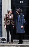 Prime Minister Theresa May welcomes the Prime Minister of New Zealand, Jacinda Ardern, to 10 Downing Street. 21.01.19