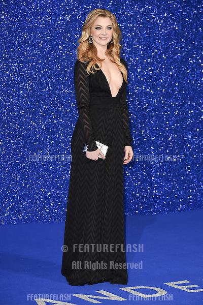 Natalie Dormer at the premiere for &quot;Zoolander 2&quot; at the Empire, Leicester Square.<br /> February 4, 2016  London, UK<br /> Picture: Steve Vas / Featureflash