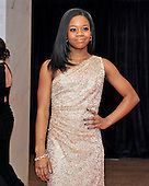 Gabby Douglas arrives for the 2013 White House Correspondents Association Annual Dinner at the Washington Hilton Hotel on Saturday, April 27, 2013..Credit: Ron Sachs / CNP.(RESTRICTION: NO New York or New Jersey Newspapers or newspapers within a 75 mile radius of New York City)