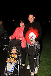 Paula, Colm, Ciaran and Jamie Callaghan at the bonfire in ballsgrove..Picture: Shane Maguire / www.newsfile.ie.