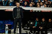 18th March 2018, Santiago Bernabeu, Madrid, Spain; La Liga football, Real Madrid versus Girona; Zinedine Zidane Coach of Real Madrid