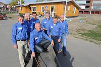 SCHAATSEN: LEMMER: 08-05-2015 IJsvereniging  Lemmer, Opening nieuw clubgebouw, Bestuur, ©foto Martin de Jong