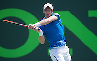 ANDY MURRAY (GBR)<br /> <br /> Tennis - Sony Open -  Miami -   ATP-WTA - 2014  - USA  -  23 March 2014. <br /> <br /> &copy; AMN IMAGES
