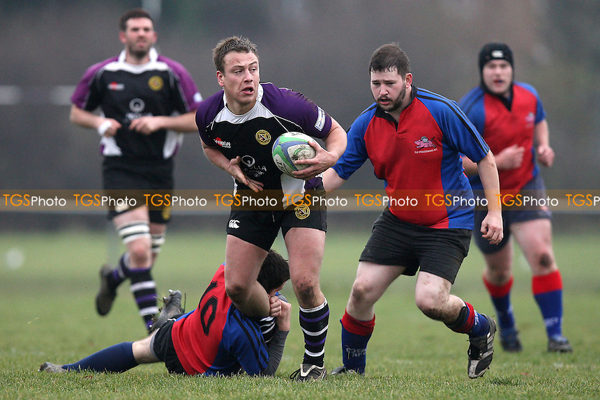 Romford & Gidea Park RFC vs Old Streetonians RFC - London Division Three North East Rugby - 20/11/10 - MANDATORY CREDIT: Gavin Ellis/TGSPHOTO - Self billing applies where appropriate - Tel: 0845 094 6026