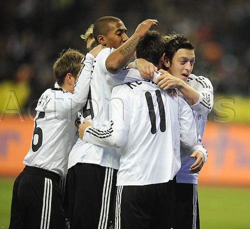 10 10 2009 Copyright Actionplus/Alternate Football World Cup Qualif RUS Germany Football RUS Germany men Football euro Qualif National team international match Moscow .  Photo : Imago/Actionplus. UK Licenses Only