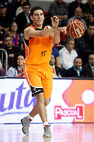 Mad-Croc Fuenlabrada's Quino Colom during Liga Endesa ACB match.November 18,2012. (ALTERPHOTOS/Acero) /NortePhoto