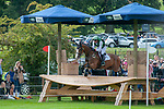 Stamford, Lincolnshire, United Kingdom, 7th September 2019, Michael Owen (GB) riding Bradeley Law during the Cross Country Phase on Day 3 of the 2019 Land Rover Burghley Horse Trials, Credit: Jonathan Clarke/JPC Images