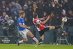 28.11.2019: Feyenoord v Rangers: Filip Helander and Jens Toornstra