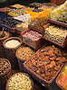 Nuts and dried fruit n the Mercat de la Boqueria, a large food market in Barcelona, Spain. Photo by Kevin J. Miyazaki/Redux