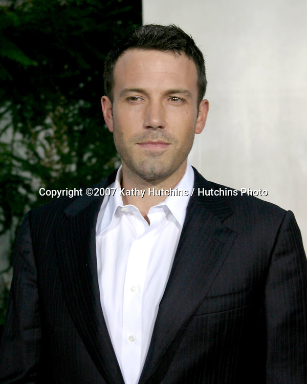 "Ben Affleck.""The Bourne Ultimatum"" World Premiere.ArcLight Theater.Los Angeles, CA.July 25, 2007.©2007 Kathy Hutchins / Hutchins Photo...."