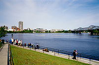 Ottawa (ON) CANADA - June 2008  File Photo - - Rideau canal...