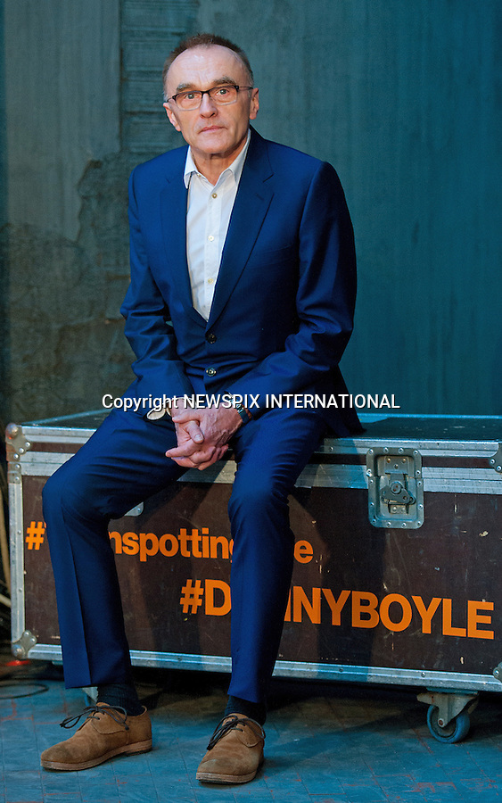 31.01.2017; Rome, Italy: DANNY BOYLE<br />
