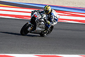 8th September 2017, Misano World Circuit, Misano Adriatico, San Marino; San Marino MotoGP, Friday free practice; Karel Abrahams (Aspar Team) during the free practice sessions