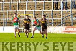 10 Kilcummin takes on 7 Currow during the O'Donoghue Cup semi final in Fitzgerald Stadium on Sunday