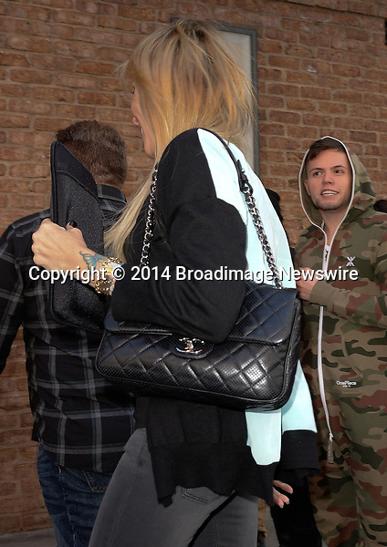 Pictured: Tish Cyrus<br /> Mandatory Credit &copy; Jayme Oak/Broadimage <br /> Miley Cyrus' mother Tish Cyrus arriving at her hotel in Manhattan<br /> <br /> 4/5/14, New York, New York, United States of America<br /> <br /> Broadimage Newswire<br /> Los Angeles 1+  (310) 301-1027<br /> New York      1+  (646) 827-9134<br /> sales@broadimage.com<br /> http://www.broadimage.com