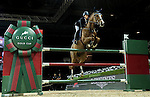 Jane Richard Philips of Switzerland rides Zekina Z in action at the Gucci Gold Cup during the Longines Hong Kong Masters 2015 at the AsiaWorld Expo on 14 February 2015 in Hong Kong, China. Photo by Victor Fraile / Power Sport Images