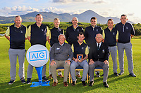 The Portumna team, Provincial Runners-Up during the Final of the AIG Senior Cup in the AIG Cups & Shields Connacht Finals 2019 in Westport Golf Club, Westport, Co. Mayo on Sunday 11th August 2019.<br /> <br /> Picture:  Thos Caffrey / www.golffile.ie<br /> <br /> All photos usage must carry mandatory copyright credit (© Golffile | Thos Caffrey)