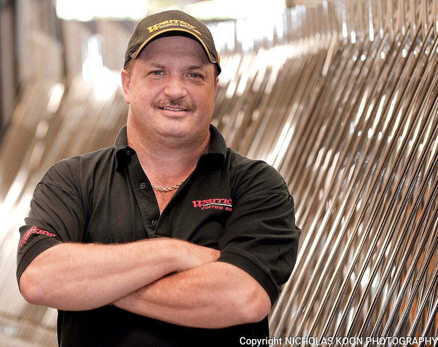 Brendan Flaherty, owner of Warrior Golf.