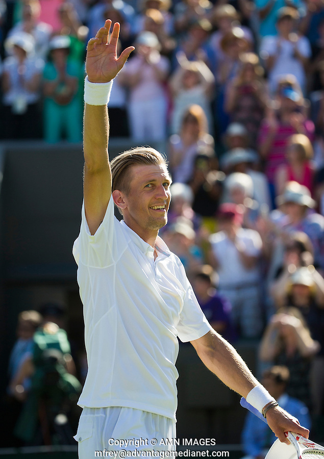 JARKKO NIEMINEN (FIN)<br /> <br /> TENNIS - THE CHAMPIONSHIPS - WIMBLEDON 2015 -  LONDON - ENGLAND - UNITED KINGDOM - ATP, WTA, ITF <br /> <br /> &copy; AMN IMAGES