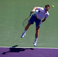 Andy MURRAY (GBR) against Mardy FISH (USA) in the third round of the mens singles. Fish beat Murray 6-4 6-4..International Tennis - 2010 ATP World Tour - Sony Ericsson Open - Crandon Park Tennis Center - Key Biscayne - Miami - Florida - USA - Sat 27 Mar 2010..© Frey - Amn Images, Level 1, Barry House, 20-22 Worple Road, London, SW19 4DH, UK .Tel - +44 20 8947 0100.Fax -+44 20 8947 0117