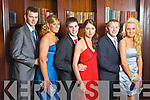 Pictured at the Castleisland Community College Debs at the Abbeygate Hotel, Tralee on Friday, from left: Daragh Jones, Niamh O'Connell, Thomas Reidy, Eilish Lynch, Jerry Mannix, Katie Prenderville.