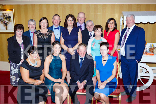 Having a ball at the South West Harriers Hunt club social in the Killarney Avenue Hotel on Saturday night front row l-r: June O'Sullivan, Leanne kelliher, Timmy McCarthy Chairman, Amanda Culloty. Back row: Mary McCarthy, Tom O'Sullivan, Catriona Palmer, Dan O'Sullivan, Helena Kelliher, Sean O'Sullivan, Paddy Hayes, Mag Buckley, Breda Fleming and Tim Fitzgerald
