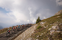 up the finish climb & the highest peak of the 2020 #TdF: the Col de la Loze (HC/2304m/21,5km @7,8%)<br /> <br /> Stage 17 from Grenoble to Méribel - Col de la Loze (170km)<br /> <br /> 107th Tour de France 2020 (2.UWT)<br /> (the 'postponed edition' held in september)<br /> <br /> ©kramon