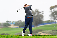 26th January 2020, Torrey Pines, La Jolla, San Diego, CA USA; Harry Higgs tees off on the 5th hole on the South Course during the final round of the Farmers Insurance Open golf tournament at Torrey Pines Municipal Golf Course on January 26, 2020.