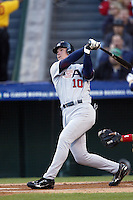 Chipper Jones of the USA during the World Baseball Championships at Angel Stadium in Anaheim,California on March 16, 2006. Photo by Larry Goren/Four Seam Images