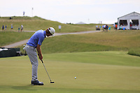 Roberto Castro (USA) putts on the 3rd green during Friday's Round 2 of the 117th U.S. Open Championship 2017 held at Erin Hills, Erin, Wisconsin, USA. 16th June 2017.<br /> Picture: Eoin Clarke | Golffile<br /> <br /> <br /> All photos usage must carry mandatory copyright credit (&copy; Golffile | Eoin Clarke)