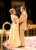 An Ideal Husband by Oscar Wilde<br /> at Festival Theatre Chichester, Great Britain <br /> 25th November 2014 <br /> <br /> directed by Rachel Kavanaugh <br /> <br /> <br /> <br /> Jemma Redgrave as Mrs Cheveley <br /> <br /> <br /> Jamie Glover as Lord Goring <br /> <br /> <br /> <br /> <br /> <br /> <br /> Photograph by Elliott Franks <br /> Image licensed to Elliott Franks Photography Services