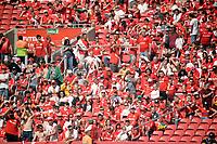 PORTO ALEGRE, RS, 14.10.2018 – INTERNACIONAL-SÃO PAULO – Os torcedores, da equipe do Internacional, durante a partida contra o São Paulo, rodada válida pelo Campeonato Brasileiro 2018, no Estádio Beira Rio, neste domingo, 14. (Foto: Donaldo Hadlich/Brazil Photo Press)