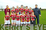 Abbeyfeale V Bruff Munster Women's Cup which took place on Sunday in the Grove Abbeyfeale.  Pictured here are Bruff women's team who were defeated by Abbeyfeale.