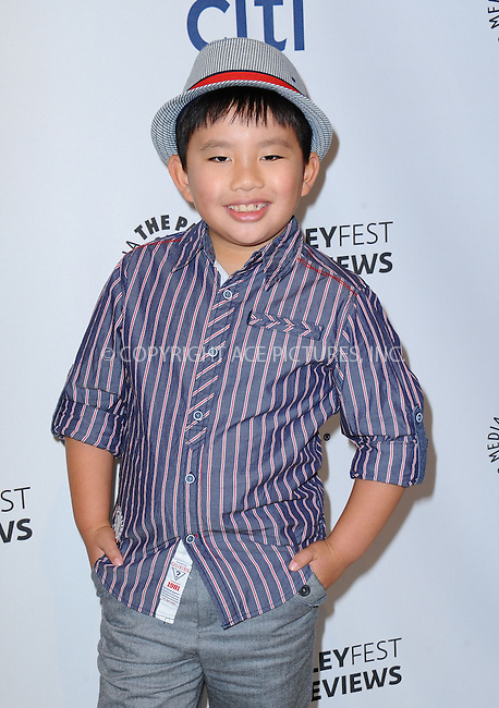 WWW.ACEPIXS.COM<br /> <br /> September 10 2013, LA<br /> <br /> Albert Tsai at the PaleyFest: ABC Fall TV Preview of 'Trophy Wife' at The Paley Center for Media on September 10, 2013 in Beverly Hills, California.<br /> <br /> By Line: Peter West/ACE Pictures<br /> <br /> <br /> ACE Pictures, Inc.<br /> tel: 646 769 0430<br /> Email: info@acepixs.com<br /> www.acepixs.com