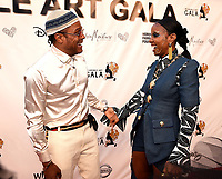 SANTA MONICA - JUNE 1: Maxwell and Kelly Rowland attend the 3rd Annual Wearable Art Gala at Barker Hangar on June 1, 2019 in Santa Monica, California. (Photo by Frank Micelotta/PictureGroup)