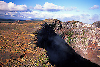 Hiking Mauna Loa ( long mountain ) the earths largest volcano on the Big Island of Hawaii