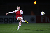Leah Williamson of Arsenal during Arsenal Women vs Bristol City Women, FA Women's Super League Football at Meadow Park on 14th March 2019